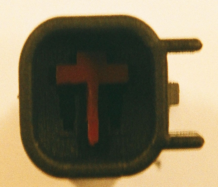 Male USCAR / EV6  Red Fuel Injector Connector