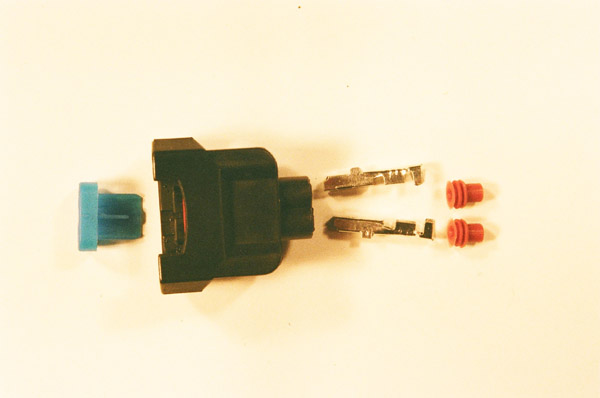 Honda Wider Slot Female Fuel Injector Connector / Plug