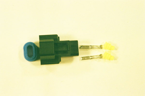 Nippon / Denso Style Female Type C Duel Slot Fuel Injector Connector / Plug Kit